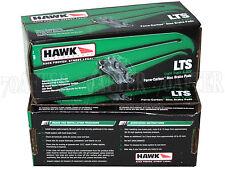 Hawk LTS Truck/SUV Brake Pads (Front & Rear Set) for 03-16 Toyota 4Runner