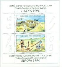 EUROPA CEPT - NORTHERN CYPRUS 1994 European Discoveries block