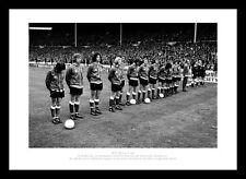 Sunderland 1973 FA Cup Final Team Line Up Before Match Photo Memorabilia (383)
