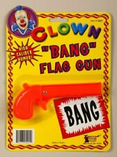 """""""Bang"""" Clown Flag Gun - Clown Accessory"""