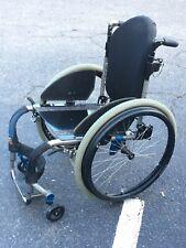 """Tilite Aero ZRA Wheelchair 17""""x17"""" w/ 24"""" Natural Fit LT Wheels"""
