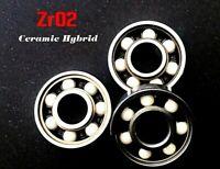 608 Zro2 HIGH PERFORMANCE CERAMIC HYBRID BEARING 8x22x7mm - UK SELLER