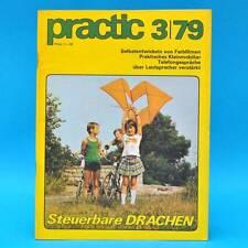 DDR practic 3/1979 Drachen Tischfußball Bootsantrieb Farbfilme entwickeln Z