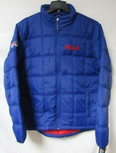 Buffalo Bills Mens Size Medium Quilted Winter Coat Jacket B4 101