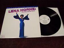 "LENA HORNE ""LIVE ON BROADWAY - THE LADY & HER MUSIC"" 2xLP ORIGINAL MASTER MFSL"