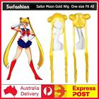 Hot Sale NEW Sailor Moon Tsukino Usagi Gold Yellow Cosplay Costume Wig