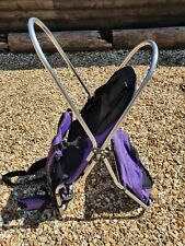 Baby / Toddler All Terrain Hooded Carrier Back Pack Purple GS60