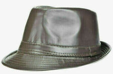 Fenside Country Clothing Mens Linen Fedora with Faux Leather Band in Two Colours
