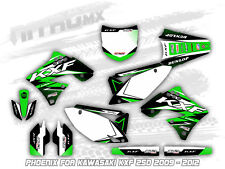 NitroMX Graphic Kit for KAWASAKI KXF 250 2009 2010 2011 2012 Motocross Decal MX