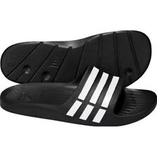 Adidas Duramo G15890 Black White Slides Sandals Shower MENS SIZES 7