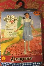 Wizard of Oz Dorothy Medium Child Costume Rubies Dress Hair Bow Emerald City