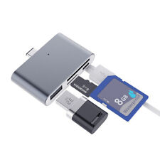 Type C To Usb Micro Tf/Sd Card Reader Otg Extender Adapter Converter For Laptop