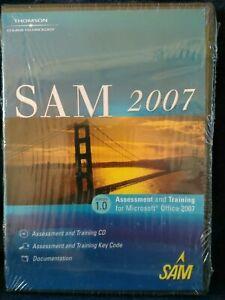 SAM 2007 Version 1.0 Assessment and Training for Microsoft Office 2007 CD-ROM NE