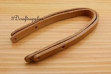 purse handle Genuine Leather purse handles for Bag 30 cm brown CK10C