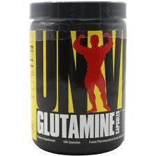 Universal Nutrition Glutamina - 100 porciones - 750mg de glutamina por cápsula