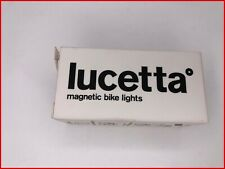 Lucetta Magnetic Bike Lights Black Flashing Modes Safety Light 2 Piece NIB