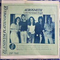 Aerosmith – Look Homeward Angel : Rare 70's Bootleg Vinyl LP ZAP 7868 EX