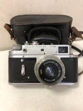 Zorki 4K Rangefinder Vintage Camera.Indusatar 50 lens.USSR