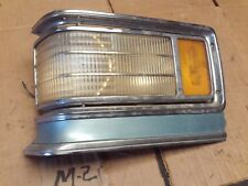 1975-1976 Cadillac Deville Fleetwood Left Corner Turn Signal Light Lamp molding