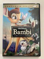 Walt Disney's Bambi DVD - 2 Disc Special Edition - Platinum Edition