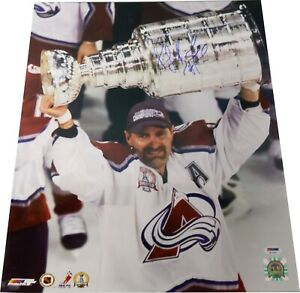 Ray Bourque Signed Colorado Avalanche StanleyCup 16x20 Photo PSA COA LST477