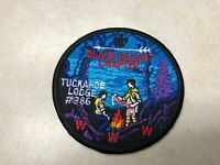 OA Lodge 386 Tuckahoe Black Walnut Chapter Patch