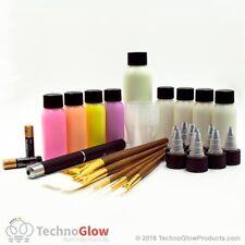 41-Piece Deluxe Glow in the Dark Paint Set