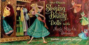 VINTAGE 1958 SLEEPING BEAUTY PAPER DOLLS ~RARE- HD LASER REPRODUCTION~No.1 LO Pr