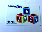 Toys R Us Gift Card ABC New No Value BILINGUAL Rechargeable For Sale