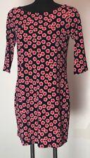 Leota NWT Women's Nouveau Sheath Dress Pose Pattern Flower X-Small XS Reversible