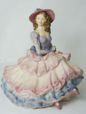 "Coalport Lady figurine The Age of Elegance ""Covent Garden"" Lovely item!"