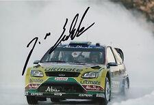 Jari Matti Latvala Hand Signed 12x8 Photo Ford Abu Dhabi Rally 6.