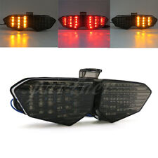 Smoke Integrated LED Tail Light Signals For Yamaha YZF R6 2003-2005 R6S 06-08