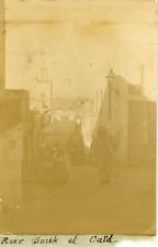 Tunisie, Sousse, Rue Souk et Caïd, ca.1898, Vintage citrate print Vintage citrat