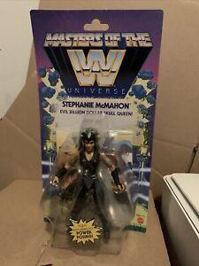 Masters Of The WWE Stephanie McMahon MOTU figure Wave 6 Mattel IN HAND
