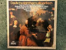 2723 078 German Chamber Music before Bach / Goebel / Music Antiqua Koln 3 LP box