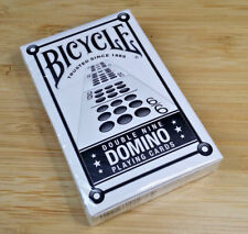 Bicycle Double Nine Domino Playing Cards Deck Bridge Size Air Cushion Finish BN