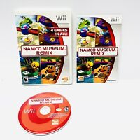 Nintendo Wii- Namco Museum Remix - Complete TESTED Working! Pacman Dig Dug