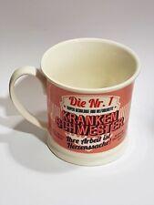 Tasse Krankenschwester Becher Kaffeetasse Retro Design H&H Porzellan Geschenk