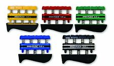 CanDo Digi-Flex Hand Exerciser Set of 5, Yellow, Red, Green, Blue, Black 10-0745