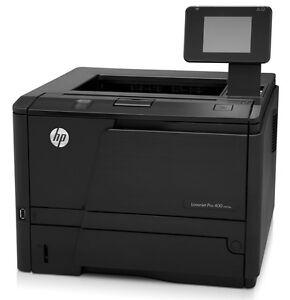 HP LaserJet Pro 400 M401dn A4 Duplex & Network Ready Mono Printer + Warranty