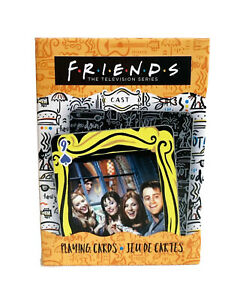 TV Series Friends Playing Cards