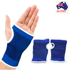 Support Wrist Gloves Hand Palm Gear Protector Elastic Brace Gym Sports Durable