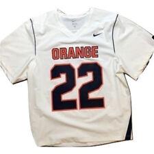 Nike Syracuse Orange Lacrosse Fast Break Jersey Mens Large e843b612b