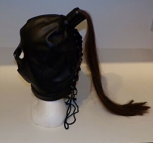 TheSexShopOnline - Gimp Mask Hood With Hair