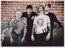 Red Hot Chili Peppers Fully Signed 8 x 10 Photo Genuine In Person