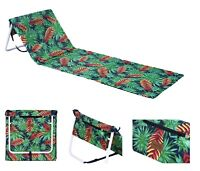 Outdoor Portable Folding Chair Beach Mat Ultra Light Leisure Fishing Seat Strap