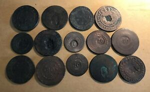 ANGOLA | BRAZIL - LOT OF 14 COINS IN POOR GRADES