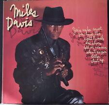 MILES DAVS -YOU'RE UNDER ARREST 1985 CBS SBP 8072 OZ VINYL FUNK FUSION