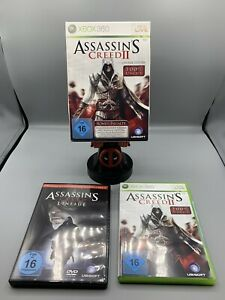 ASSASSIN'S CREED 2 II - LINEAGE EDITION inkl. OVP DVD ► MICROSOFT XBOX360 ◄ TOP